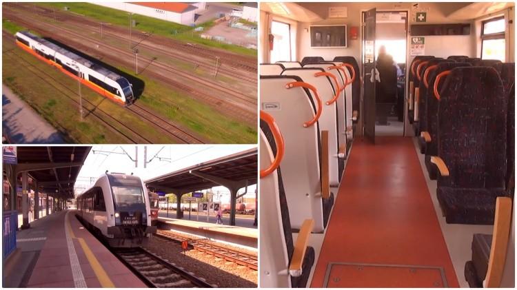 Informacja od pasażerki: Pociąg na trasie Malbork-Kwidzyn uderzył w konar leżący na torach – 07.06.2017