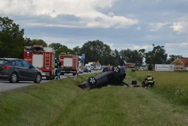 5 osób poszkodowanych. Wypadek na krajowej