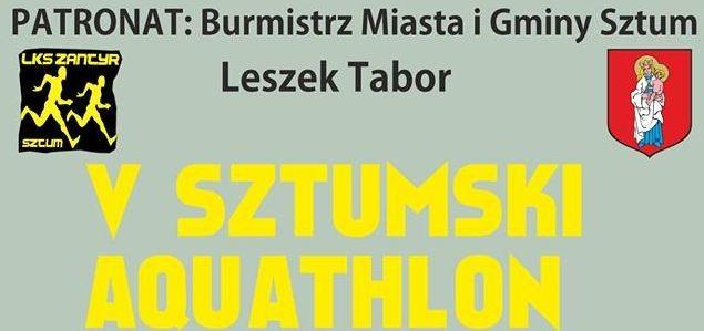 Sztum : Zapraszamy na V sztumski Aquathlon - 29.07.2017