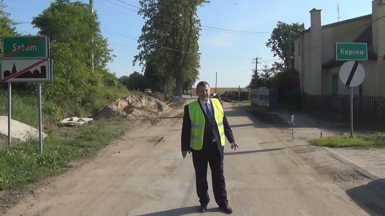Sztum: W końcu przestanie zalewać ul. Kochanowskiego! Drogowy pat właśnie jest rozwiązywany – 12.07.2017