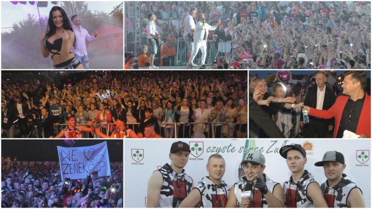4. Żuławy w rytmie disco. 15 tys. fanów muzyki disco polo przyjechało do Nowego Stawu. Zapraszamy na relację