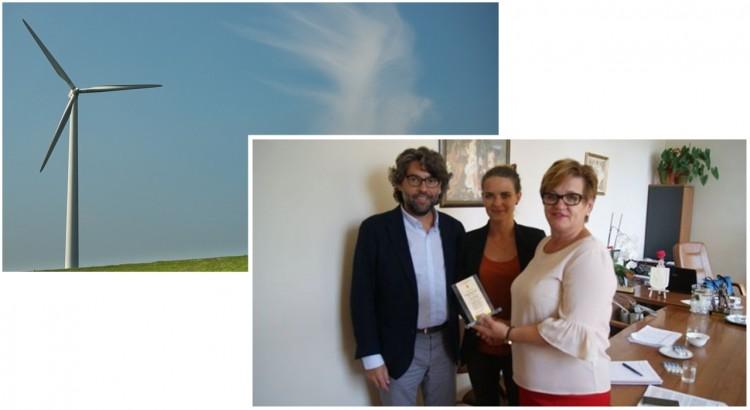 Dzierzgoń : Spotkanie władz miasta z Prezesem Zarządu firmy Pomerania Invall Sp.z.o.o. - 18.07.2017