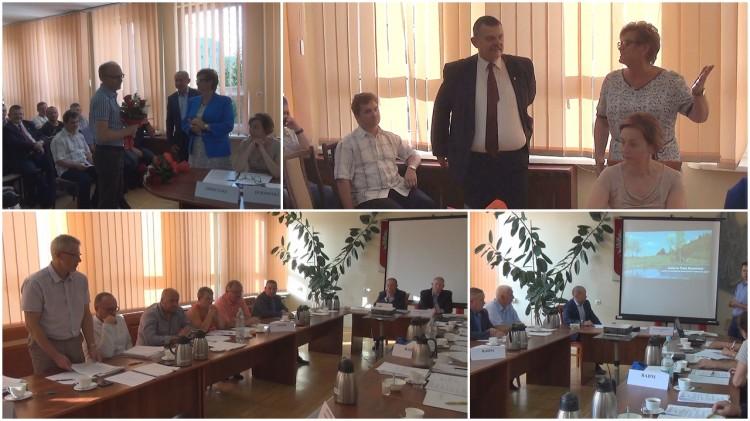 XXX sesja Rady Miejskiej w Dzierzgoniu. Starosta sztumski wziął udział w obradach – 31.08.2017