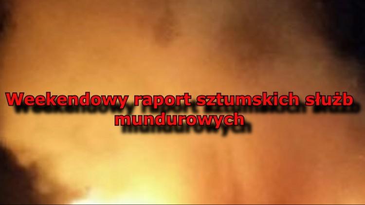 Mężczyzna utopił się w sztumskim jeziorze. Walka z pożarem domu w Pudłowcu. Weekendowy raport sztumskich służb mundurowych – 12.09.2017