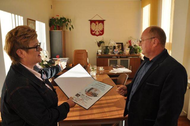 Gmina Dzierzgoń : Jednodniowa zmiana na stanowisku Burmistrza - 14.09.2017