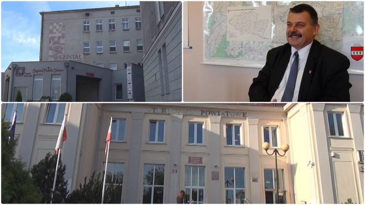 Inwestycje, remonty, programy oświatowe i zdrowotne. Rozmowa ze starostą sztumskim Wojciechem Cymerysem – 04.10.2017