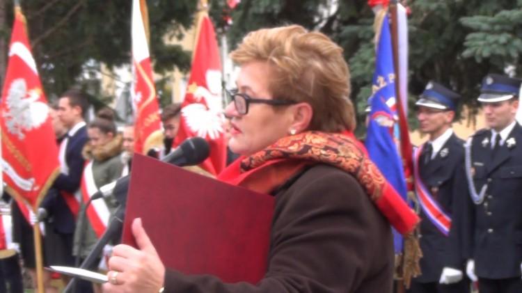 Mieszkańcy Dzierzgonia uczcili 99. rocznicę odzyskania niepodległości - 11.11.2017