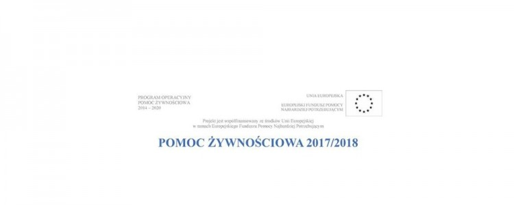 Dzierzgoń : Miejski Ośrodek Pomocy Społecznej wydaje skierowania na pomoc żywnościową 2017/2018 - 15.11.2017