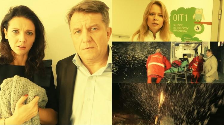 Andżelika Piechowiak, Magdalena Wójcik i Grzegorz Gzyl w teledysku: Fajerwerki, nie widzę tego. Ostrzeżenie dla rodziców