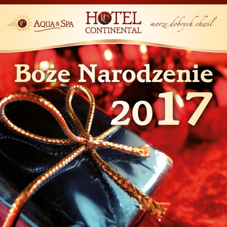 Spędź magiczne Święta w Hotelu Continental w Krynicy Morskiej!
