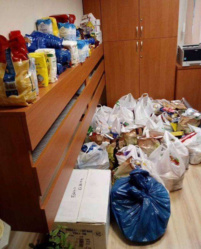 Zbiórka żywności zakończona sukcesem! Akcja Wigilijny Dar Serca w Dzierzgoniu! - 19.12.2017