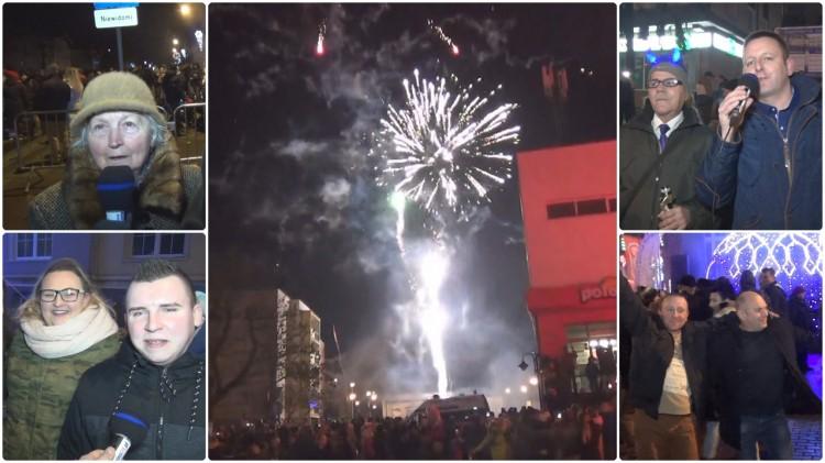 Sztum: Setkami fajerwerków i petard przywitali Nowy Rok – 31.12.2017