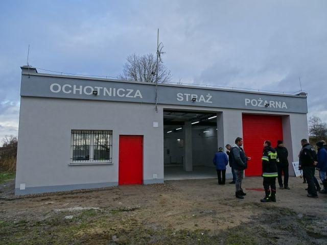 Gmina Sztum : Nowa remiza dla OSP Postolin - 05.01.2018