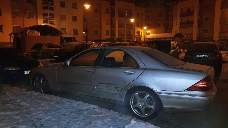 Wybite szyby, porysowana i wgnieciona karoseria... Ktoś niszczy auta przy Słowackiego w Malborku (?) - 09.02.2018