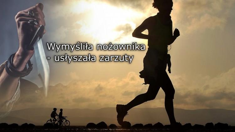 Lisewo Malborskie: Wymyśliła nożownika i usłyszała zarzuty – 16.02.2018