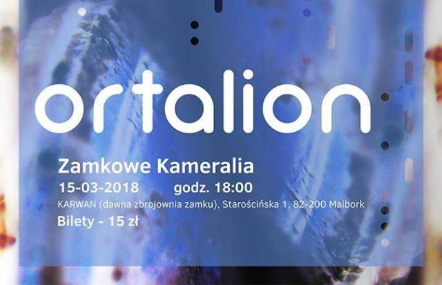 Zamkowe Kameralia : Trójmiejski zespół Ortalion wystąpi w malborskim Karwanie