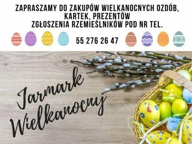 Zapraszamy na Jarmark Wielkanocny w Dzierzgoniu