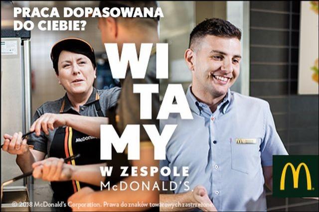 McDonald's nagrodzony za działania rekrutacyjno-wizerunkowe