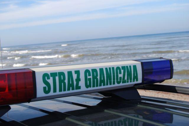 Komendant Placówki Straży Granicznej uratował w ostatniej chwili tonącego mężczyznę