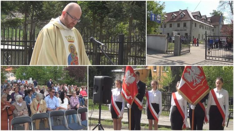 Msza Święta Polowa z okazji Święta Konstytucji 3 Maja przy Dzierzgońskim Ośrodku Kultury