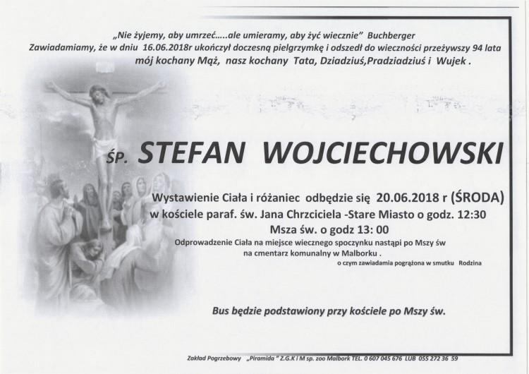 Zmarł Stefan Wojciechowski. Żył 94 lata.