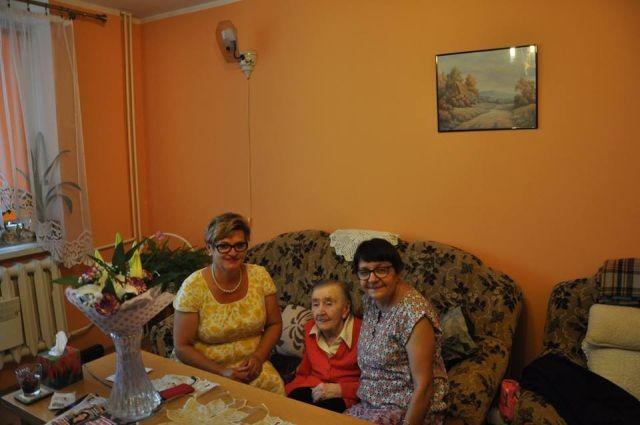 Dzierzgoń: 90. urodziny Pani Marii Barańskiej