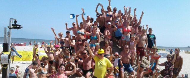 Plażowe Mistrzostwa Budowniczych zakończone. Zobacz w jakiej miejscowości powstała najwyższa budowla.