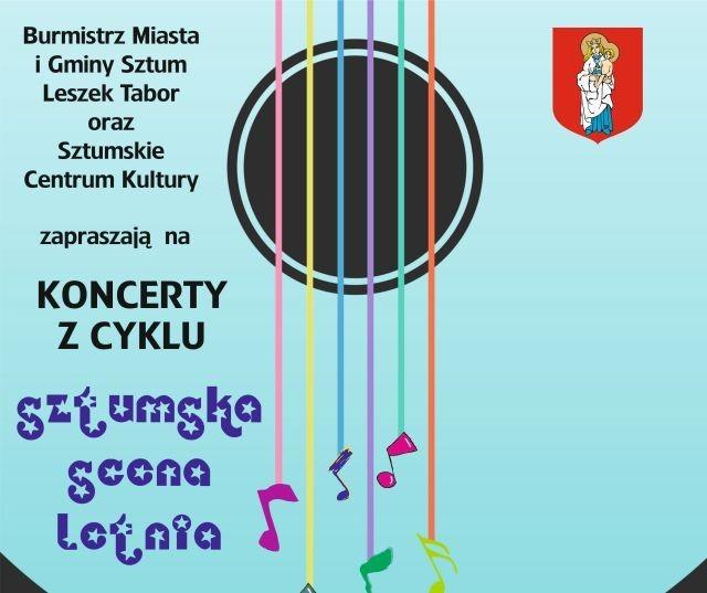 Sztumska Scena Letnia: Zapraszamy na cykl koncertów! W najbliższą sobotę usłyszymy Piotra Wróbla