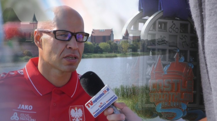 Zmiany i nowości w Castle Triathlon Malbork. Rozmowa z Marcinem Waniewskim