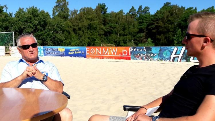 Jak się zdobywa tytuł mistrza Polski? Henryk Kuczma, trener Hemako Sztutowo w Ikonach Sportu.