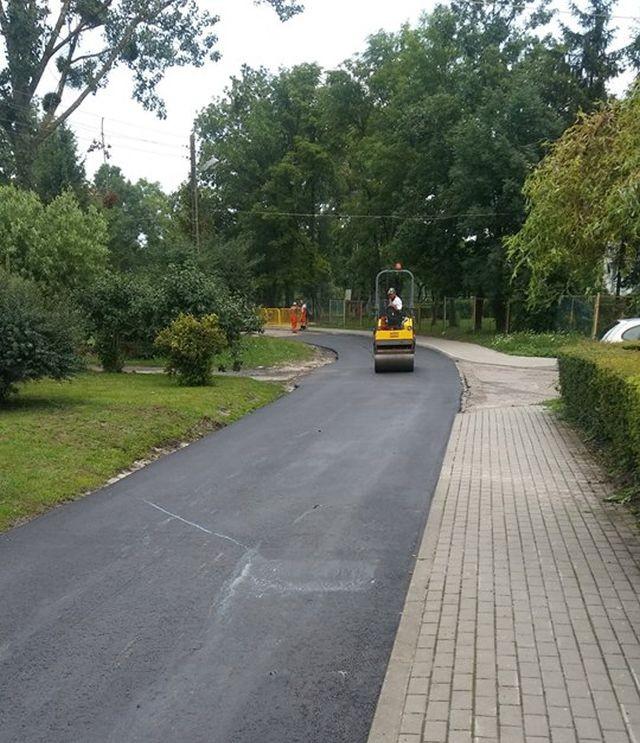 Remonty dróg w miejscowościach na terenie Gminy Dzierzgoń