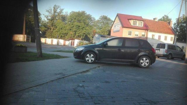 Nowodworscy Mistrzowie (nie tylko) parkowania.