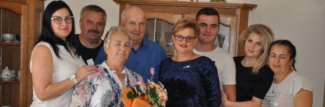 Gmina Dzierzgoń: Medale za długoletnie pożycie małżeńskie