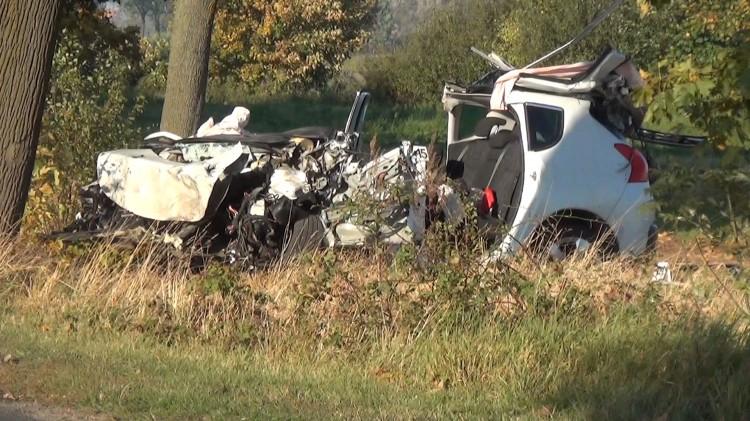 Śmiertelny wypadek w Brzózkach. Policja bada przyczyny zdarzenia.