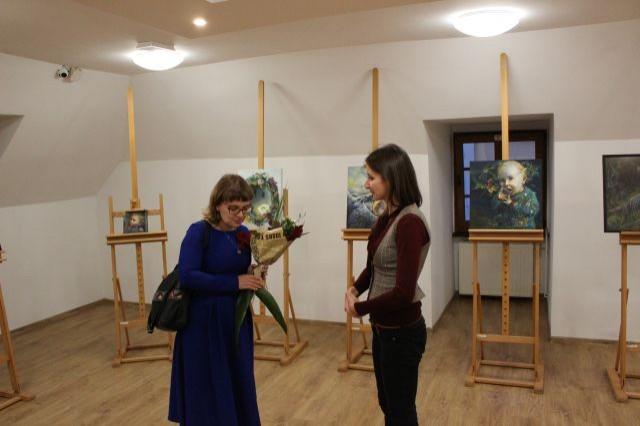 Wystawa malarstwa w Dzierzgońskim Ośrodku Kultury