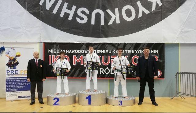 Zawodnicy malborskiego Klub Kyokushin Karate na Międzynarodowym Turnieju Karate Kyokushin IKO Mazury Cup