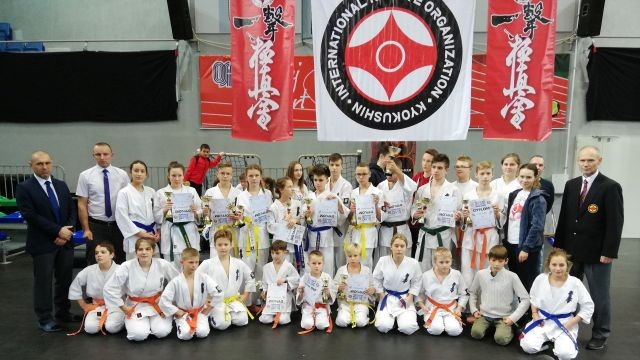 XVIII Ogólnopolski Turniej Karate Kyokushin 2018 -