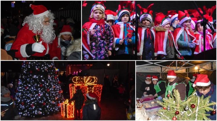 W Sztumie też są grzeczne dzieci – św. Mikołaj z wizytą u mieszkańców.