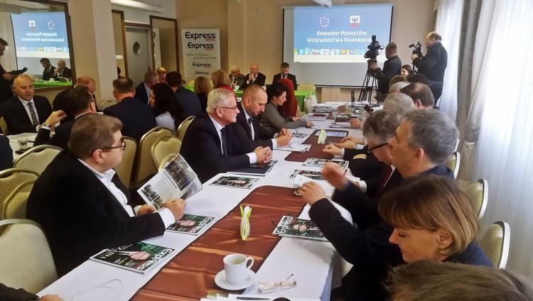 Pierwszy Konwent Pomorski w tej kadencji. Mirosław Czapla nadal pozostaje przewodniczącym