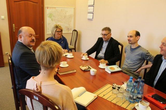 Spotkanie Sztumskiego Klastra Energetycznego z udziałem Starosty Powiatu.