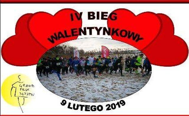 IV Bieg Walentynkowy w ramach XX Jubileuszowego Biegowego Grand Prix Sztumu.
