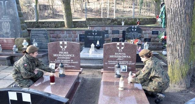 Terytorialsi upamiętnili bohaterów wyklętych.