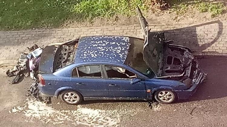 Podpalenie samochodu na Sienkiewicza w Malborku?