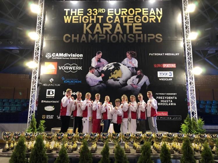 33 Wagowe Mistrzostwa Europy Kyokushin Karate Wrocław
