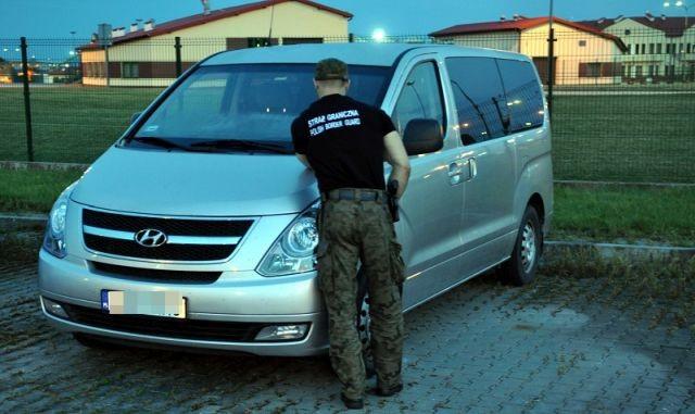Hyundai z podejrzanym numerem VIN
