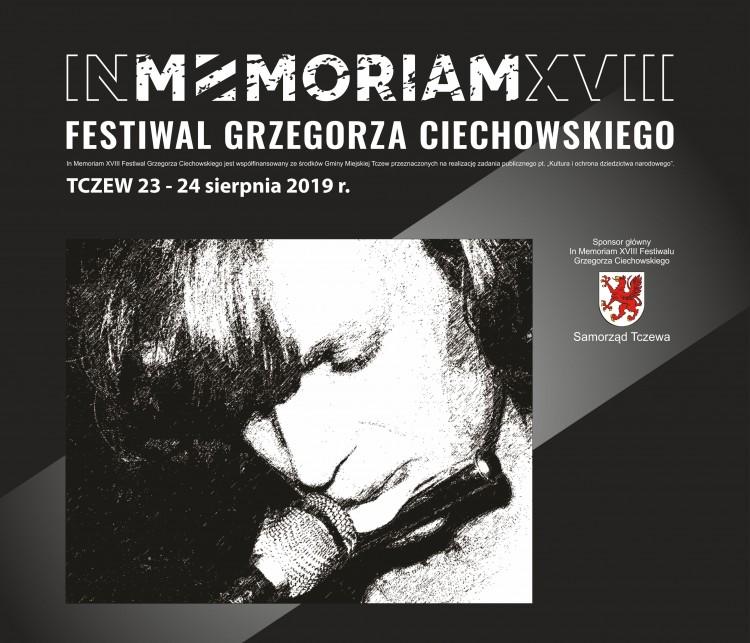 IN MEMORIAM XVIII Festiwal Grzegorza Ciechowskiego w Tczewie