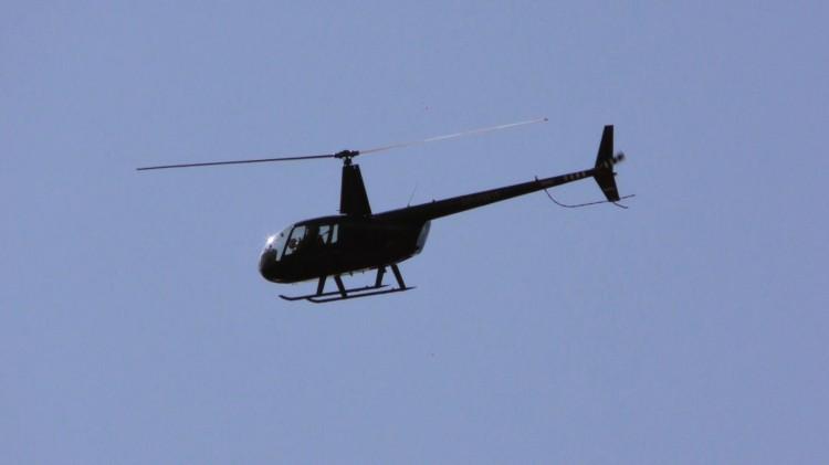 Zastanawiał was latający helikopter nad Malborkiem?