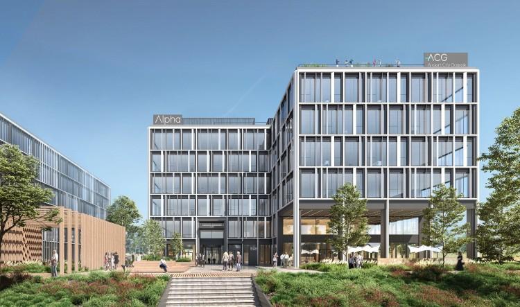 3 oferty na budowę biurowca Alpha w ramach Airport City Gdańsk