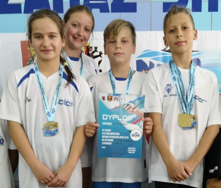 Złote otwarcie sezonu - MAL WOPR z 33 medalami na 1 miejscu w Lipnie.