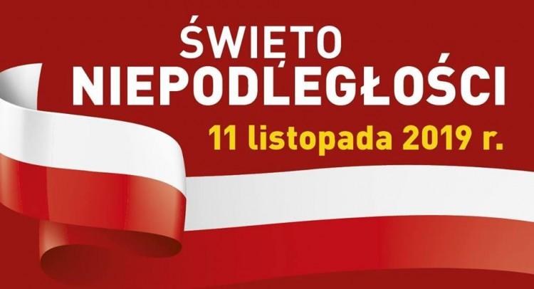 Sztum: Obchody 101. rocznicy Odzyskania Niepodległości przez Polskę.